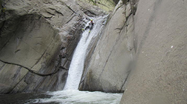 Canyoning-Pyrénées Orientales-Canyoning in the Gorges du Llech, near Prades-10