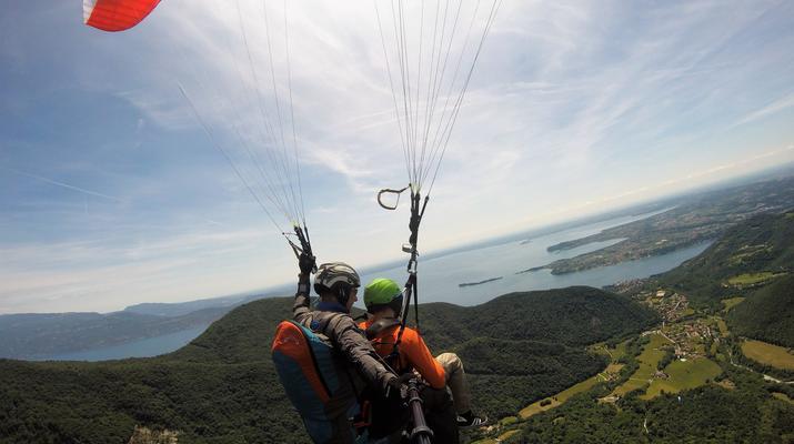 Paragliding-Lake Garda-Tandem Paragliding over Lake Garda-3