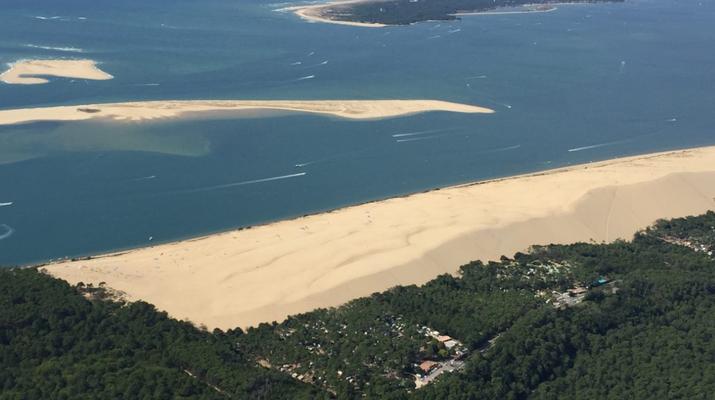 Helicoptère-Arcachon-Tour complet du Bassin d'Arcachon en hélicoptère-1