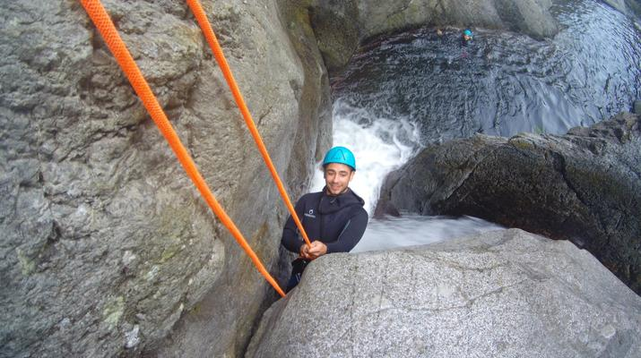 Canyoning-Pyrénées Orientales-Canyoning in the Gorges du Llech, near Prades-5