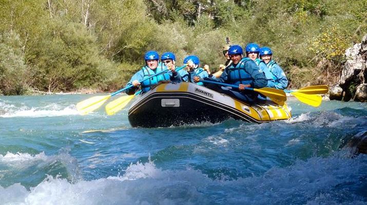 Rafting-Gorges du Verdon-Rafting dans les Gorges du Verdon-3