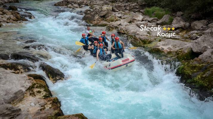 Rafting-Konjic-Rafting on the Neretva River near Konjic, Bosnia and Herzegovina-1
