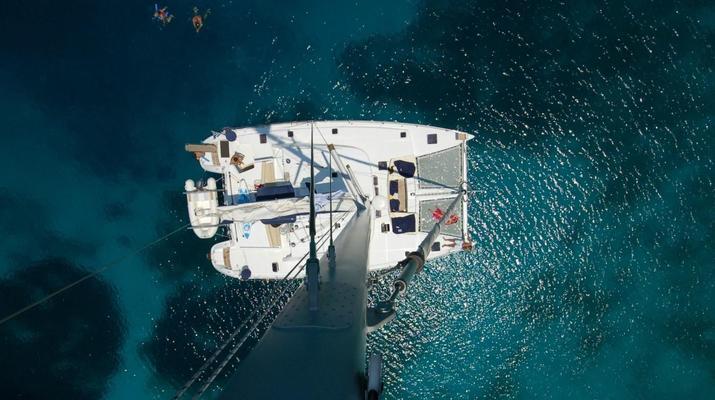 Sailing-Mykonos-Catamaran Sailing Cruise in Mykonos-6