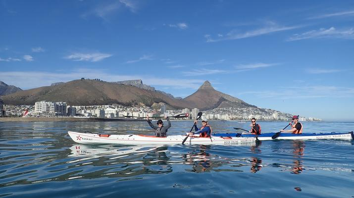 Sea Kayaking-Cape Town-Kayaking excursion in Table Bay, South Africa-6