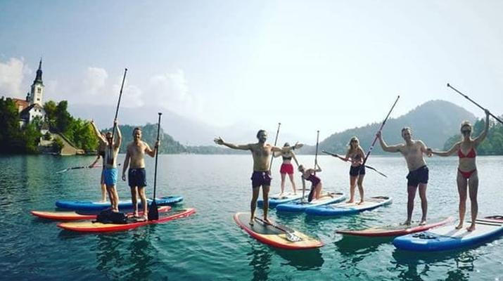 Stand up Paddle-Bled-Stand Up Paddling Tour on Lake Bled-5
