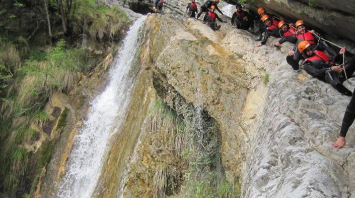 Canyoning-Lake Garda-Tignale Canyon, near Lake Garda-4