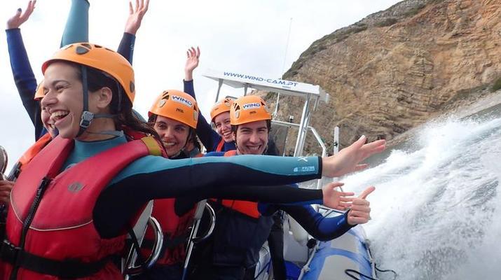 Coasteering-Parque Natural da Arrábida-Coasteering and Speedboat tour in Arrabida Natural Park near Lisbon-4