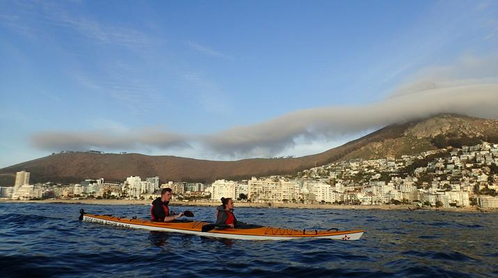 Sea Kayaking-Cape Town-Kayaking excursion in Table Bay, South Africa-2