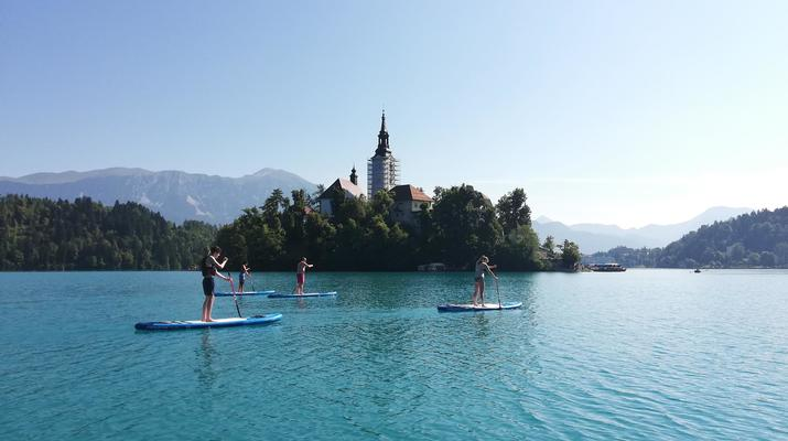 Stand up Paddle-Bled-Stand Up Paddling Tour on Lake Bled-1