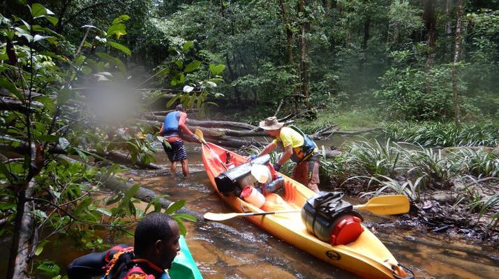 Canoë-kayak-Guyane-Excursion Canoë-Kayak sur les rivières de Guyane-3