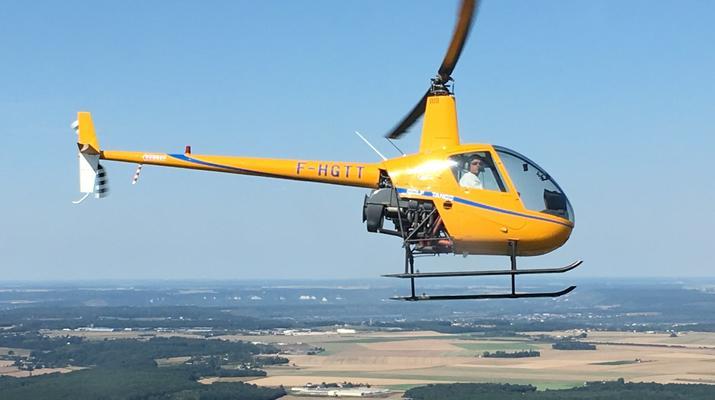 Helicoptère-Le Havre-Initiation pilotage hélicoptère au Havre-2