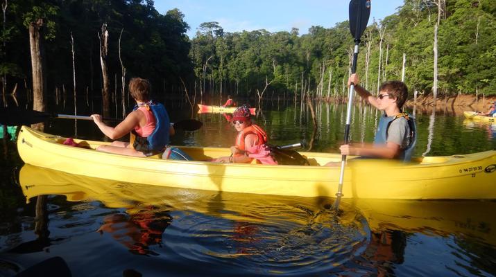 Canoë-kayak-Guyane-Excursion Canoë-Kayak sur les rivières de Guyane-10
