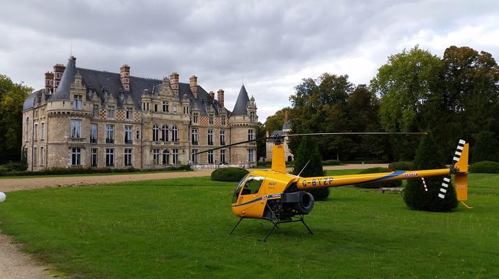 Helicoptère-Le Havre-Initiation pilotage hélicoptère au Havre-1