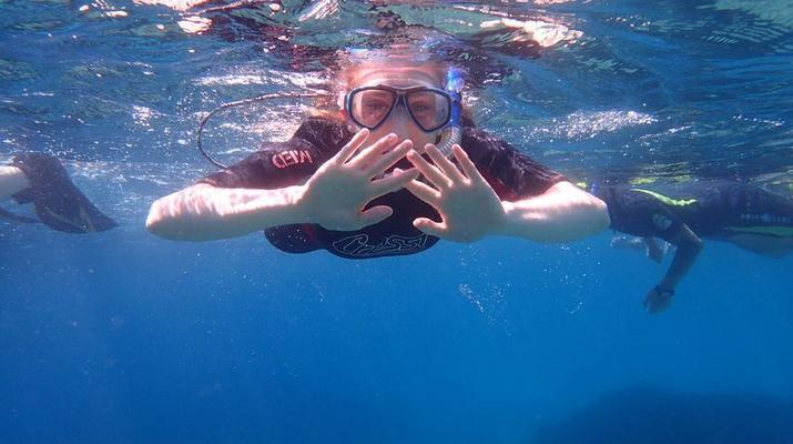 Snorkeling-Palma, Majorque-Plongée en apnée dans la réserve marine près de Palma de Majorque-6