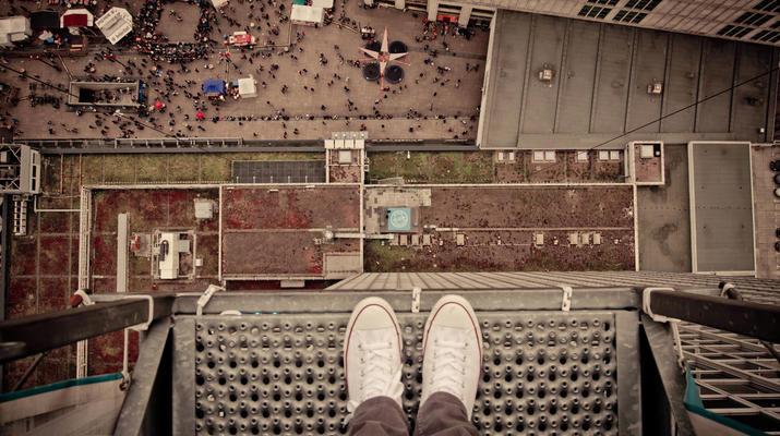Bungeejumping-Berlin-Sky Jump am Alexanderplatz, Berlin Mitte-2