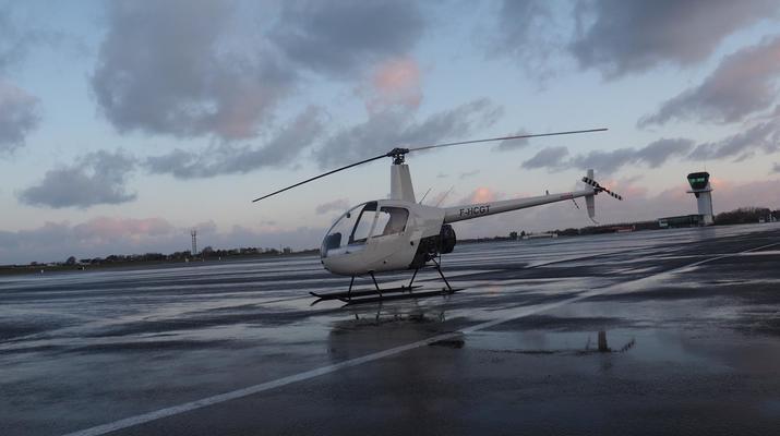 Helicoptère-Le Havre-Initiation pilotage hélicoptère au Havre-3