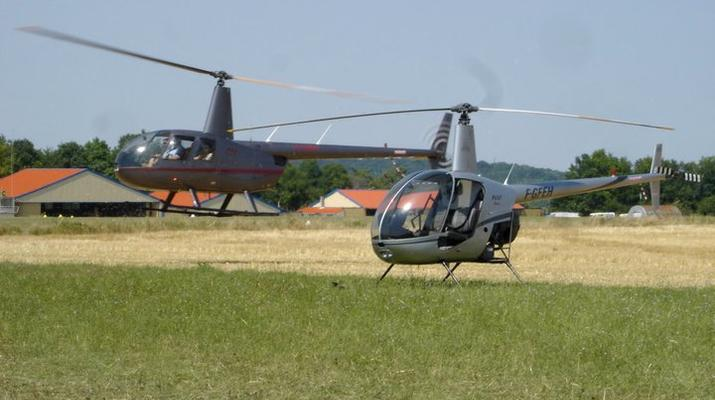 Helicoptère-Le Havre-Initiation pilotage hélicoptère au Havre-4