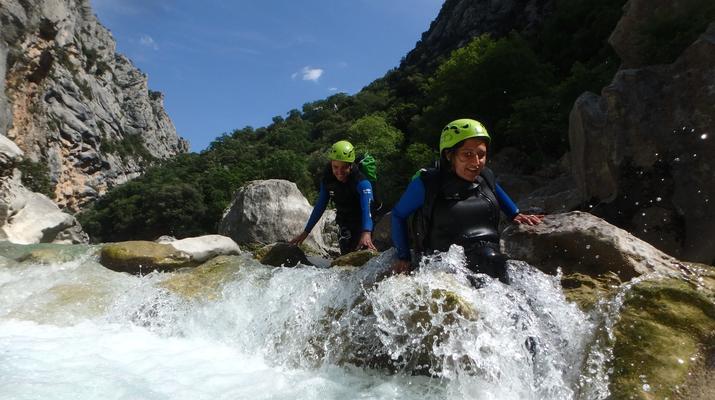 Canyoning-Gorges du Verdon-Canyon de la Ferné dans les gorges du Verdon-1