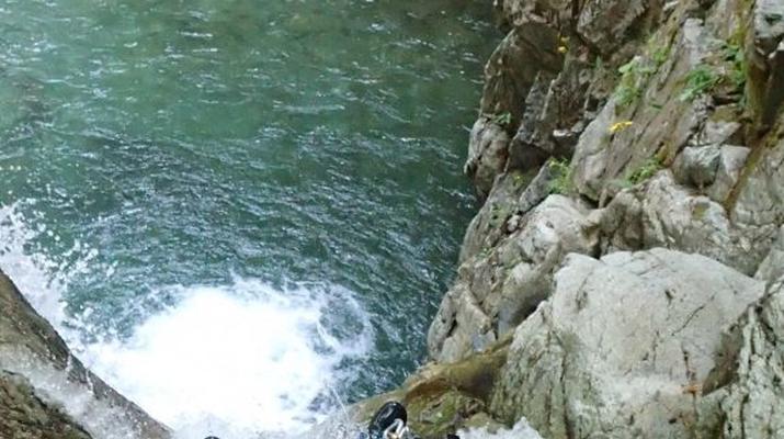 Canyoning-Laruns-Canyon of Bious-Gabas, Atlantic Pyrenees-1