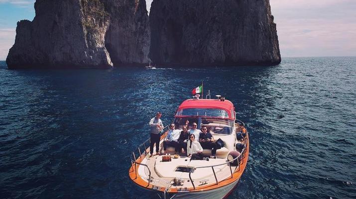 Voile-Positano-Croisière d'une journée sur la côte amalfitaine au départ de Positano-3