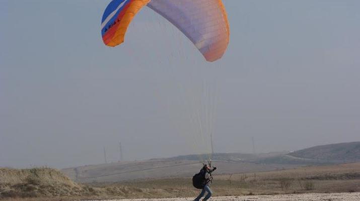 Paragliding-Madrid-Tandem paragliding flight near Madrid-3