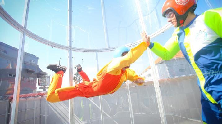 Soufflerie-Bali-Parachutisme en salle à Bali-1