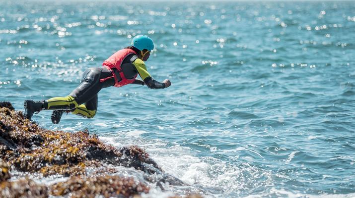 Coasteering-Edinburgh-Coasteering Extreme at Arbroath near Edinburgh-5