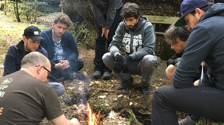 Curso de Superviviencia-Namur-Formación de supervivencia en Deulin, cerca de Marche-en-Famenne-3