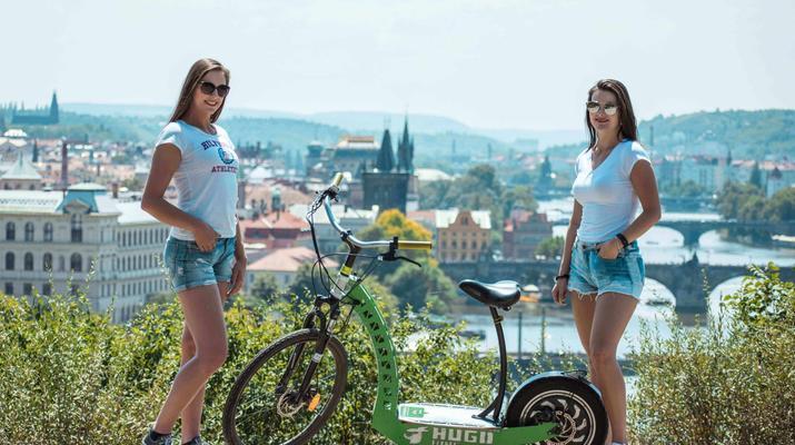 Trottinette-Prague-Visite en scooter électrique de Prague et de ses environs-3