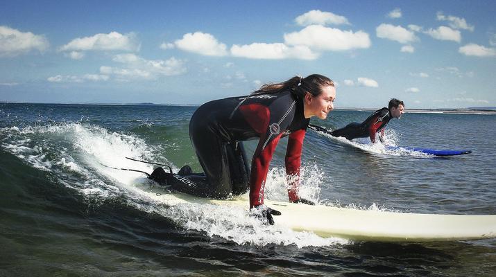 Surfen-Sligo-Anfänger-Surfing-Unterricht in Strandhill, Sligo-5