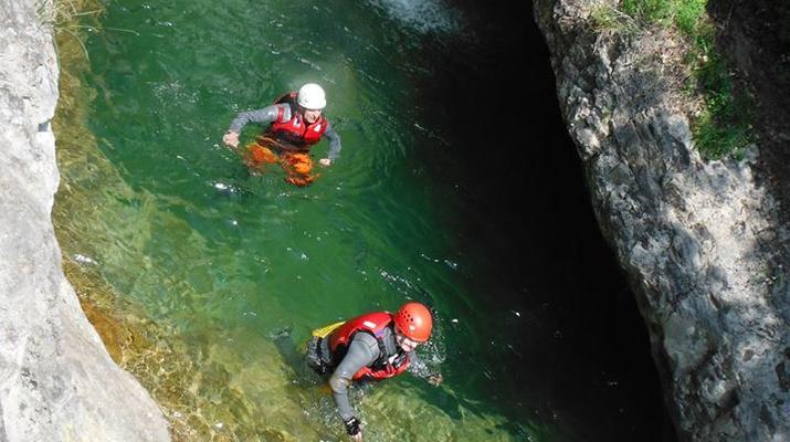 Canyoning-Lake Garda-Palvico Canyon near Lake Garda-2