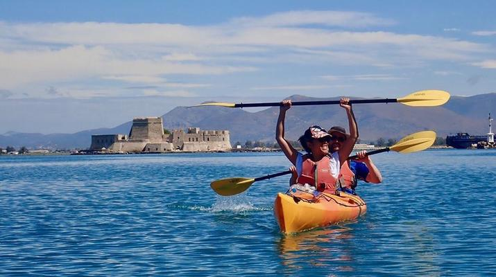 Kayak de mer-Epidaurus-Excursion en kayak de mer dans la ville engloutie d'Epidaure-3
