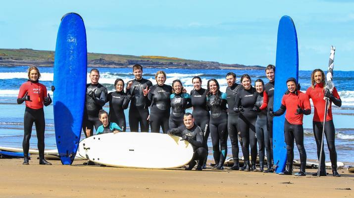 Surfen-Sligo-Anfänger-Surfing-Unterricht in Strandhill, Sligo-6