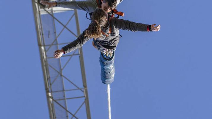 Saut à l'élastique-Lloret del Mar-Le plus haut saut à l'élastique d'Espagne (70 m), près de Barcelone-4