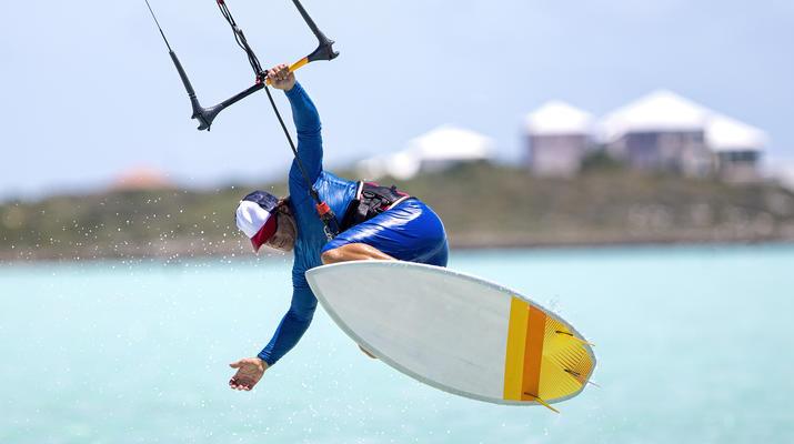 Kitesurfing-Paros-IKO Kitesurfing courses in Pounda, Paros-1
