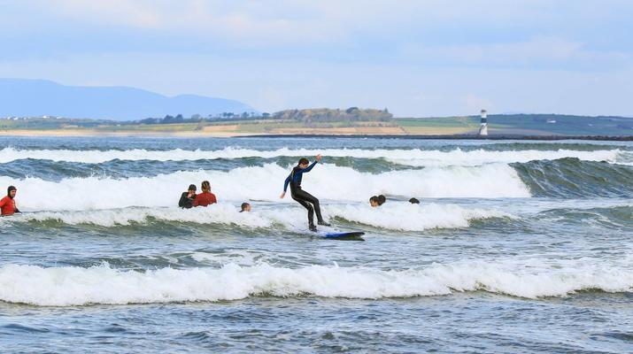 Surfen-Sligo-Anfänger-Surfing-Unterricht in Strandhill, Sligo-1