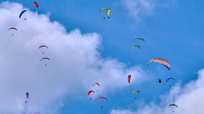 Paragliding-Las Palmas de Gran Canaria-Tandem paragliding in Los Giles, Gran Canaria-2