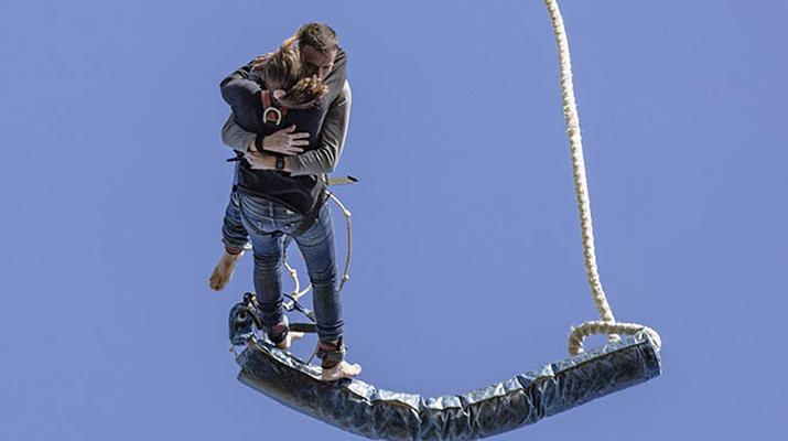 Saut à l'élastique-Lloret del Mar-Le plus haut saut à l'élastique d'Espagne (70 m), près de Barcelone-3