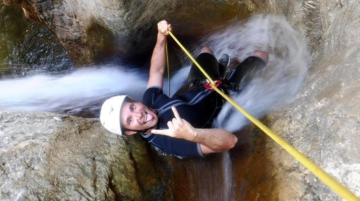 Canyoning-Heraklion-Canyoning in der Portela-Schlucht, Viannos im Süden Kretas-5