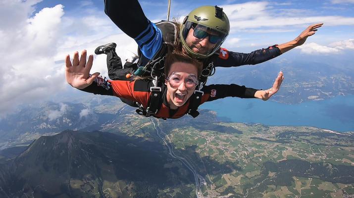 Skydiving-Interlaken-Tandem Skydive over Interlaken, Switzerland-1