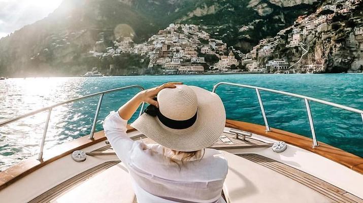 Voile-Positano-Croisière d'une journée sur la côte amalfitaine au départ de Positano-1