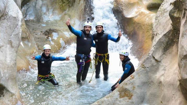 Canyoning-Gorges du Verdon-Canyon de la Clue de Saint Auban dans les Gorges du Verdon-1