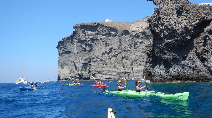 Kayak de mer-Santorin-Excursion en kayak de mer à Santorin-1