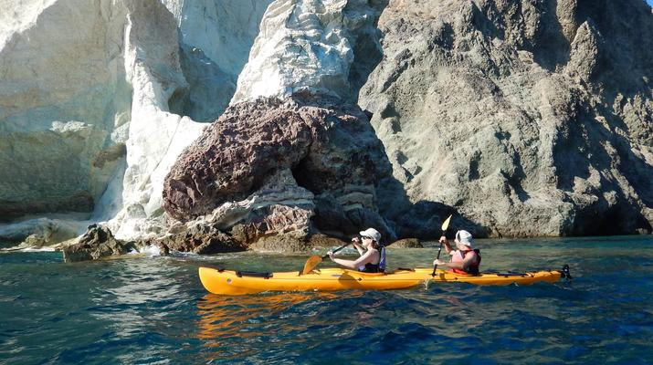 Kayak de mer-Santorin-Excursion en kayak de mer à Santorin-4