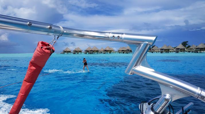 Wakeboard-Bora Bora-Séance de wakeboard à Bora Bora, Polynésie française-3