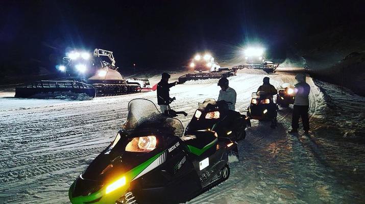 Snowmobiling-Andorra-Snowmobile excursions in Ordino Arcalís, Andorra-6