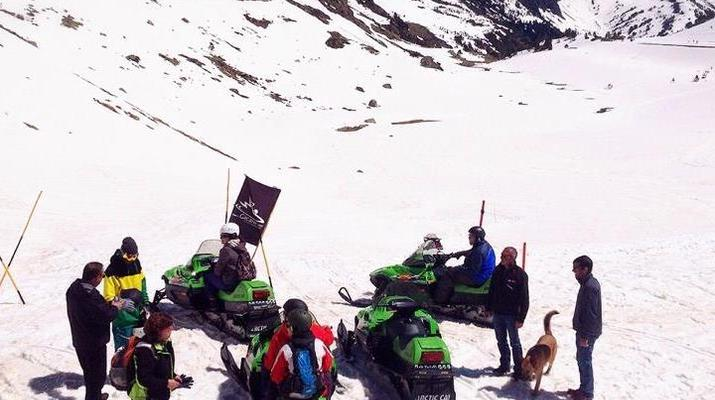 Snowmobiling-Andorra-Snowmobile excursions in Ordino Arcalís, Andorra-3