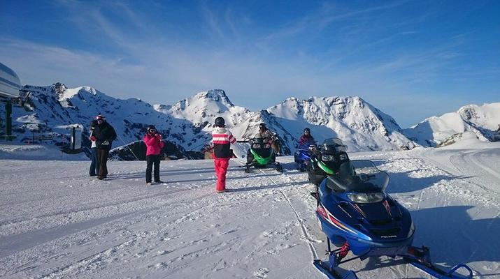 Snowmobiling-Andorra-Snowmobile excursions in Ordino Arcalís, Andorra-1
