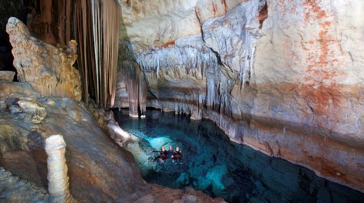 Caving-Manacor, Mallorca-Sea Caving excursion in Cova des Coloms, Mallorca-1