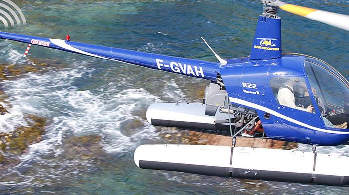 Helicoptère-Cannes-Vol d'initiation en hélicoptère à Cannes, Côte d'Azur-5